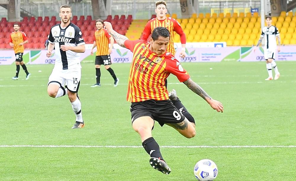Gianluca Lapadula, Benevento - Foto Antonio Fraioli