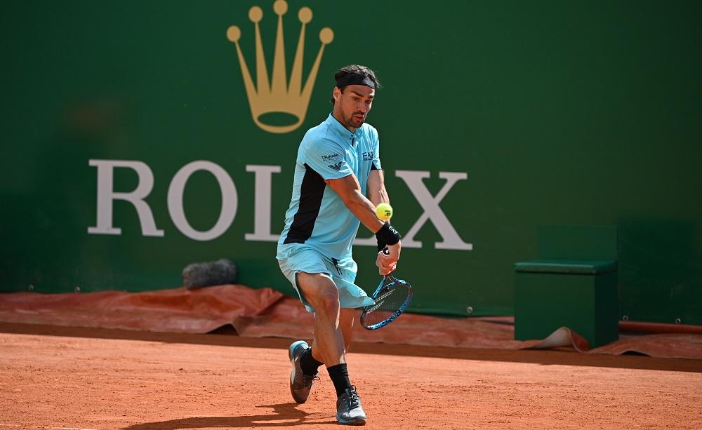 Masters 1000 Montecarlo: Fognini ai quarti senza perdere set, Djokovic esce di scena