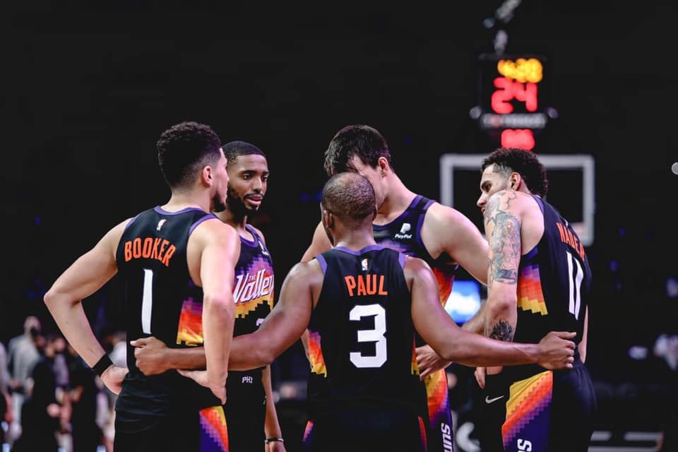 Phoenix Suns, Phoenix Suns Official Facebook Page