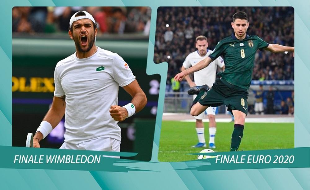 Finale Wembley e Wimbledon