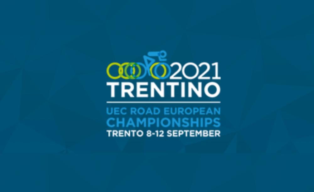 Logo Europei Trento 2021 ciclismo
