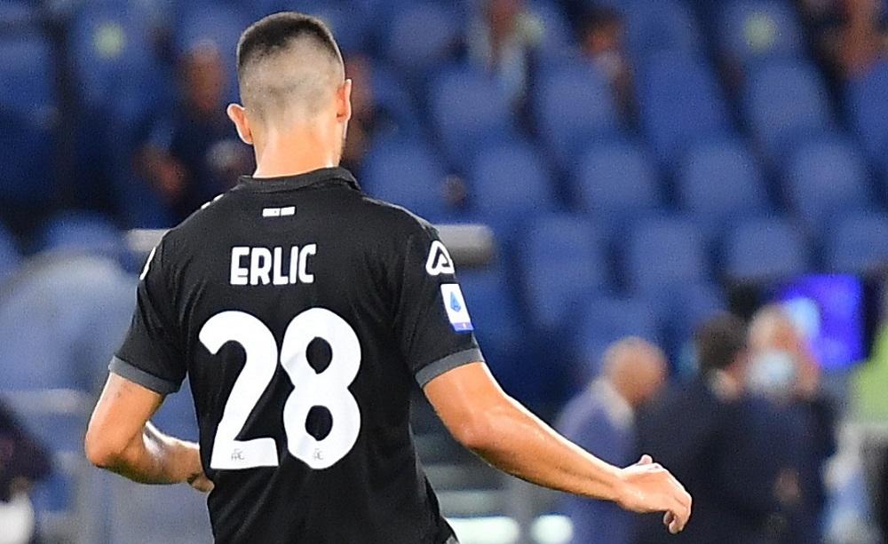 Martin Erlic Spezia 2021/2022 - Foto Antonio Fraioli