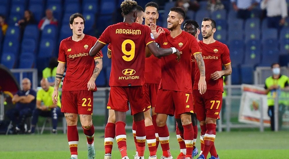 AS Roma 2021/2022 - Foto Antonio Fraioli
