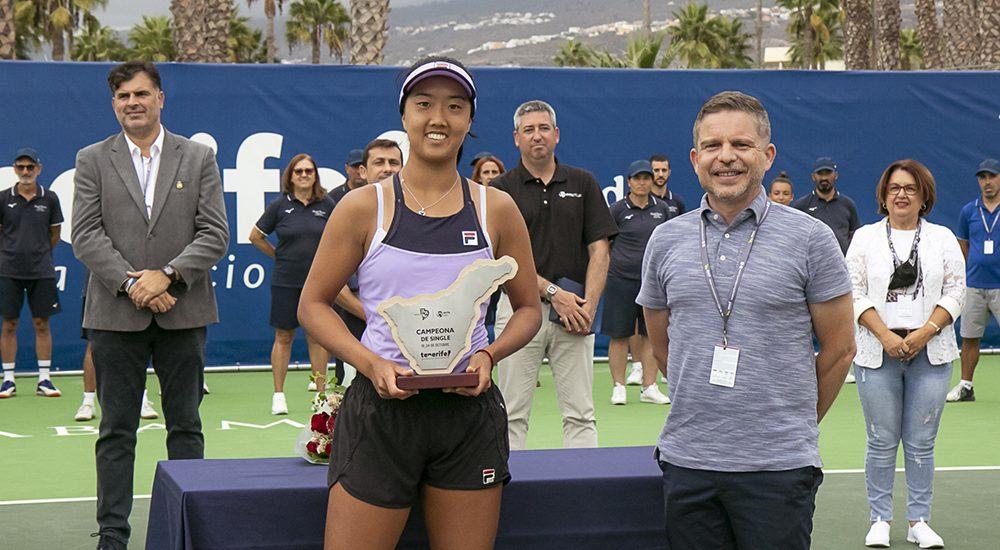 Ann Li e David Pérez - Foto Marta Magni/MEF Tennis Events
