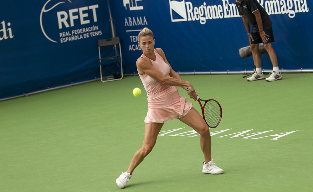 Camila Giorgi - Foto Marta Magni/MEF Tennis Events