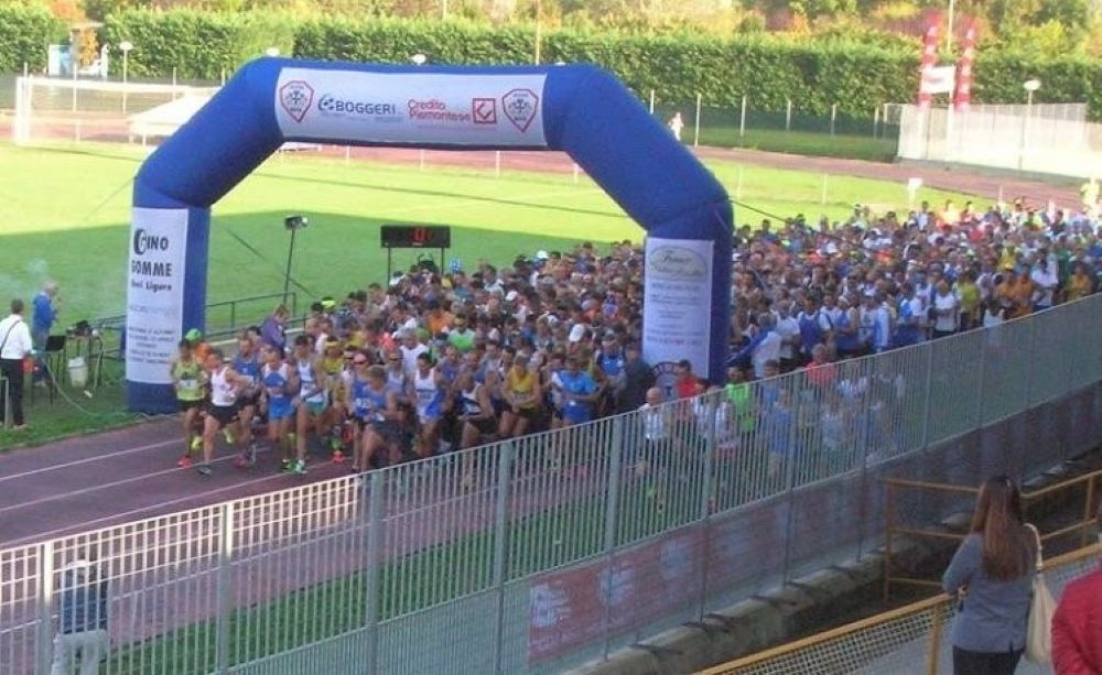 Partenza Maratonina D'autunno