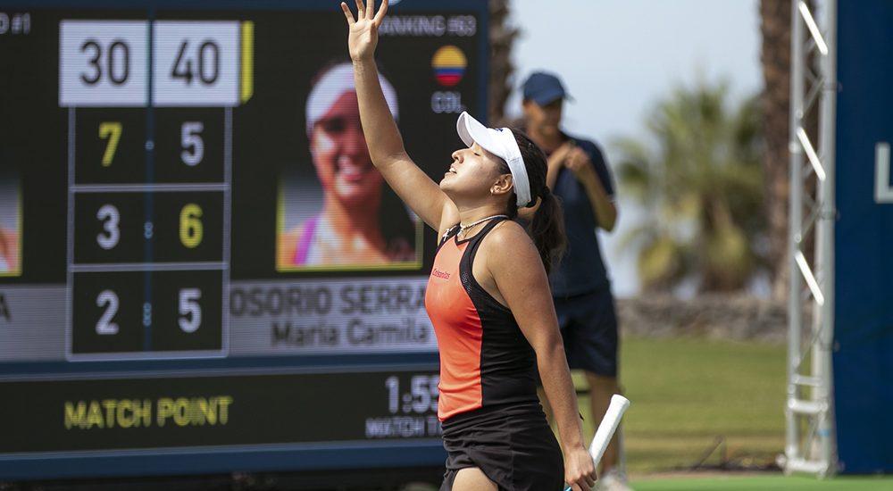 Maria Camila Osorio Serrano - Foto Marta Magni/MEF Tennis Events