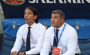Simone Inzaghi e Angelo Peruzzi