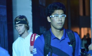 Hyeon Chung e Andrey Rublev