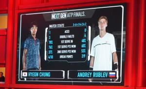 La finale delle Next Gen Atp Finals 2017